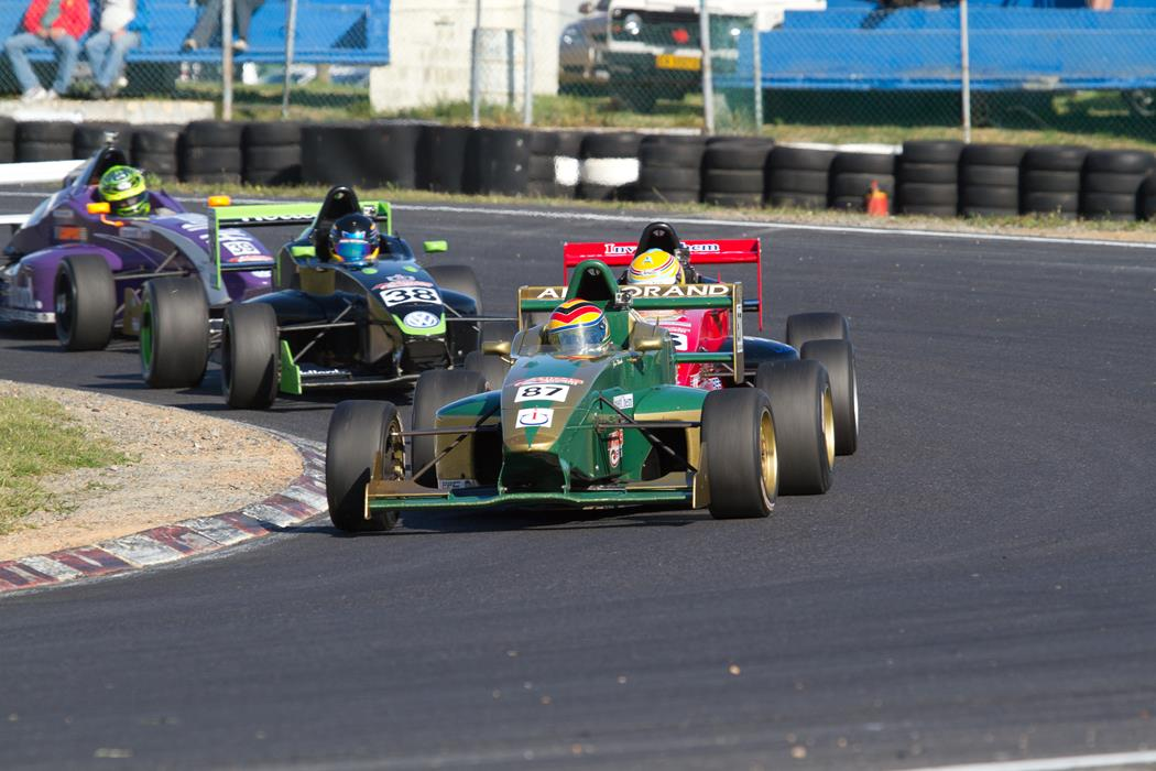 Race day action sees South African Single-Seaters championship drama
