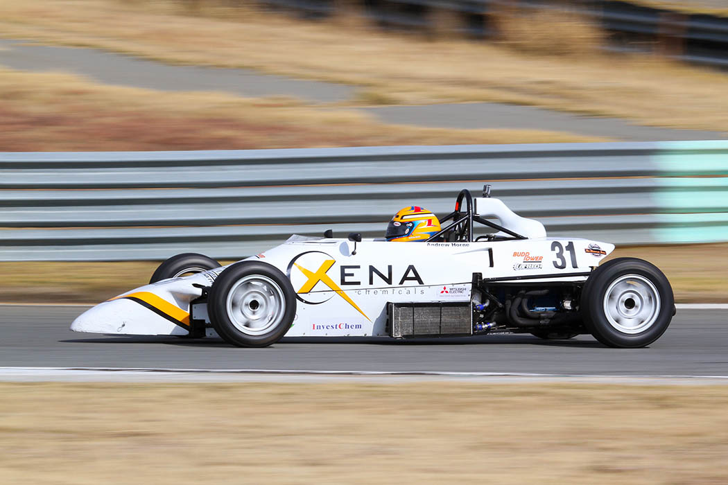 Investchem Formula Ford Kent action starts at Zwartkops