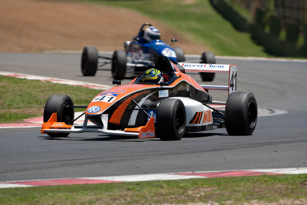 South African Single Seaters bring thoroughbred racing to Zwartkops