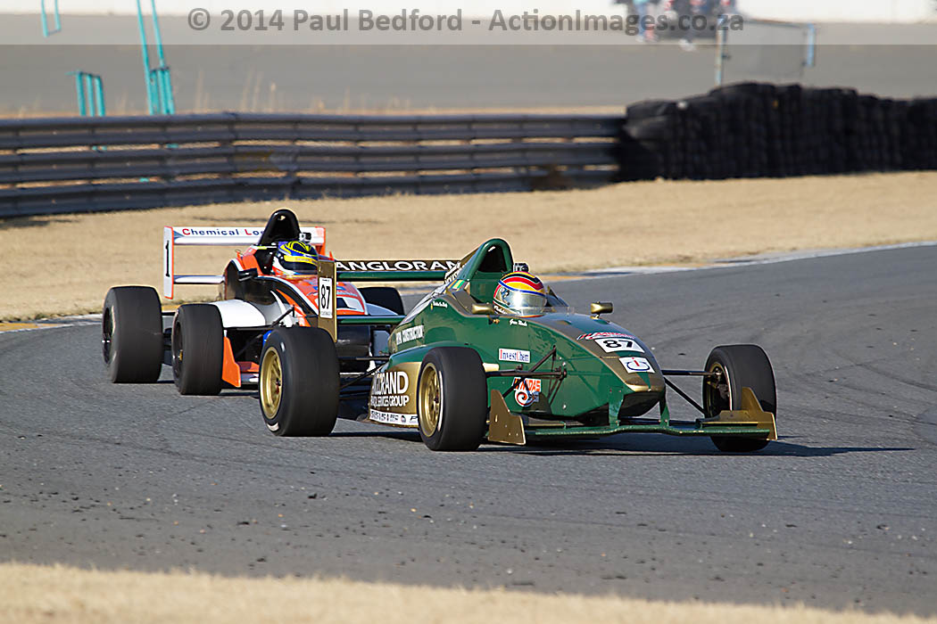 South African Single-Seaters ready to race at penultimate 2014 round