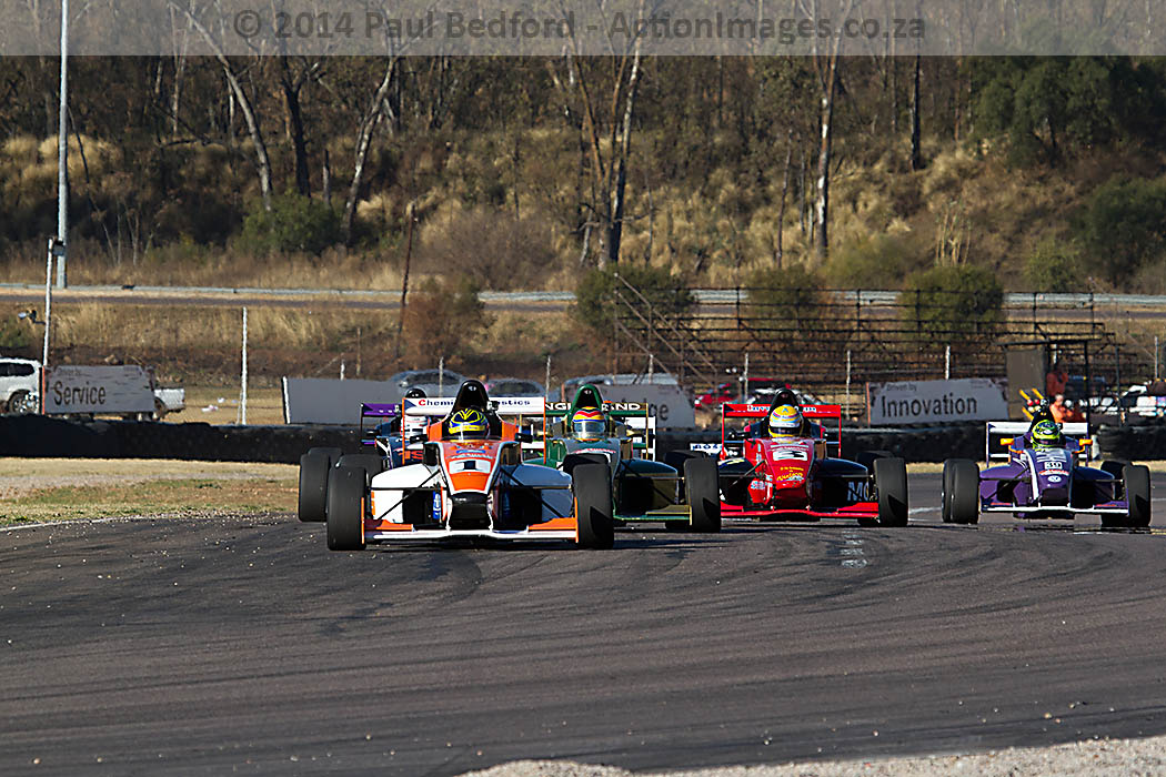 South African Single-Seaters in high speed antics at Zwartkops