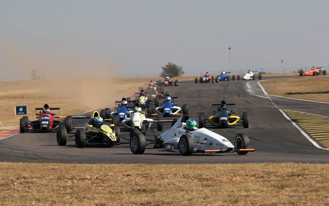 Busy day on track for the Investchem Formula 1600 competitors
