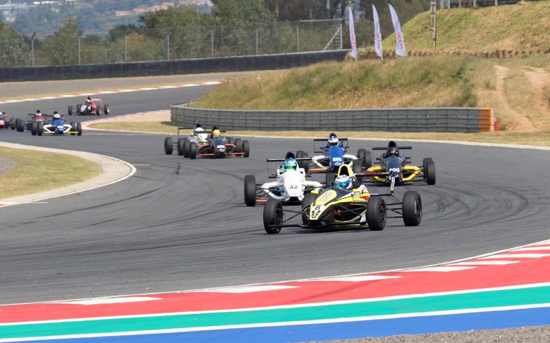 Finale for Investchem Formula 1600 championship at Kyalami in Johannesburg